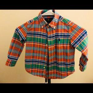 Ralph Lauren Boy 2T Button down shirt
